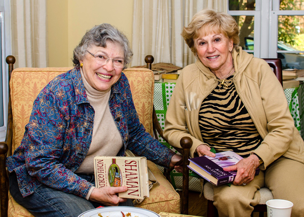 Judy Morenoff and Marilyn Hammerman