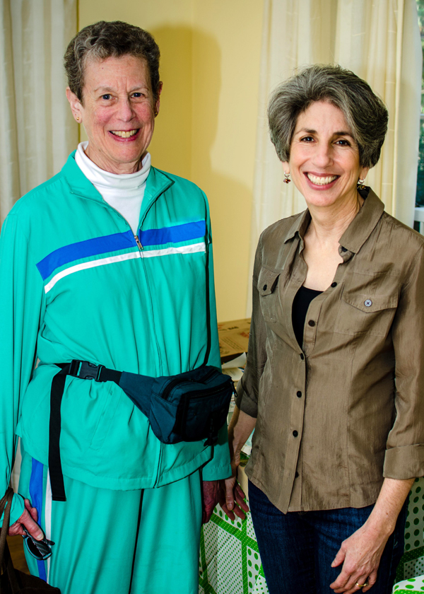 Nancy Simon and Jayme Epstein